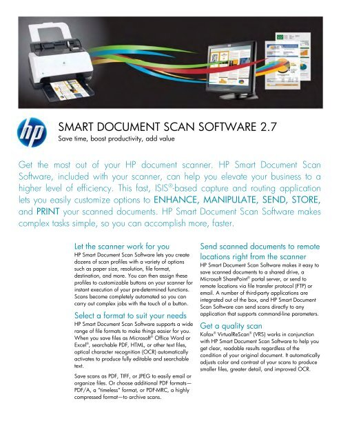 hp smart scan for windows 7