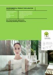 ENVIRONMENTAL PRODUCT DECLARATION Eczacıbaşı Building ...
