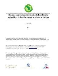 Resumen ejecutivo - Coastal Resources Center at the University of ...
