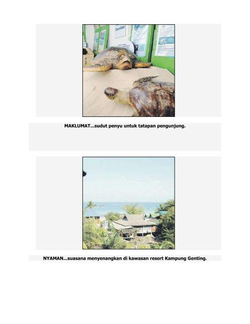 Tioman - lukisan terbaik alam - Jabatan Taman Laut Malaysia