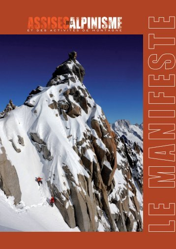 Le Manifeste - Les Assises de l'Alpinisme
