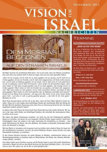 mit Bildern in Monitorqualität - 500 kByte - Vision für Israel