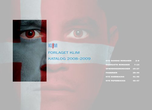 FORLAGET KLIM KATALOG 2008–2009
