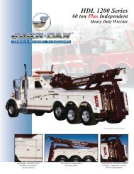 Jerr-Dan HDL 1200 530 60 Ton Independent - Twin State Equipment