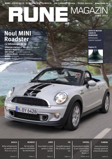 Noul MINI Roadster - RUNE Piese Auto
