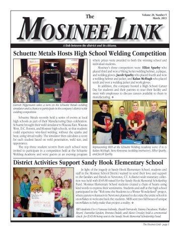 March 2013 - Mosinee School District