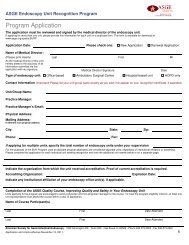 program brochure to see specific guidelines - American Society for ...