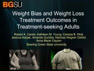 Weight Bias And Weight Loss Treatment Outcomes In