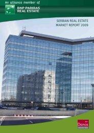 SERBIAN REAL ESTATE MARKET REPORT 2009 - DANOS