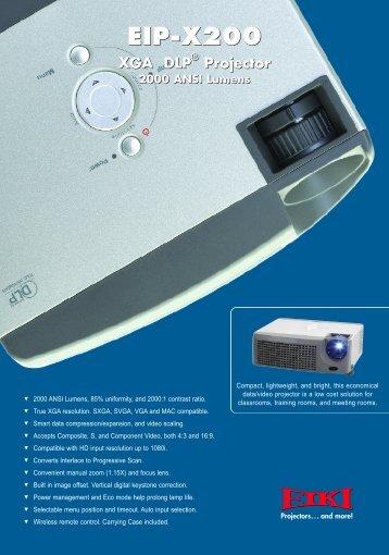 EIP-X200 EIP-X200 - Petri Konferenztechnik