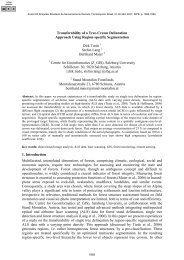 Transferability of a Tree-Crown Delineation - marte:80 - Inpe