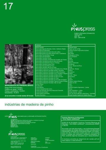 indústrias de madeira de pinho - Centro Pinus