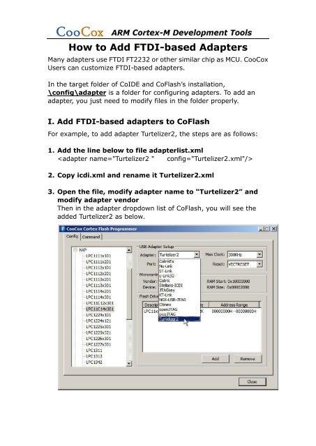 How to Add FTDI-based Adapters.pdf - CooCox