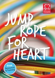 What is Jump Rope For Heart? - BHF National Centre - physical ...