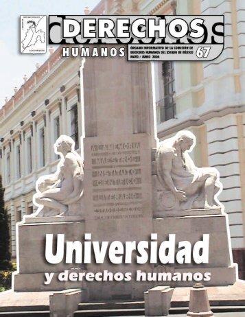Universidad y Derechos Humanos - codhem