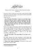 Table of Content - Enjoy Islam - Page 7