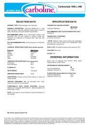 product data - StonCor Africa