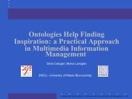 a Practical Approach in Multimedia Information Management