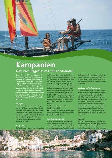 Kampanien - Windbeutel Reisen