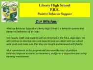 PBS Parent PowerPoint - Liberty High School
