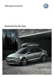 Accessories for the Jetta. - Volkswagen