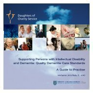 Quality Dementia Care - Daughters of Charity Service