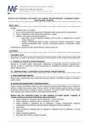 Upute za pisanje izvješća za izbor u znanstveno-nastavna zvanja