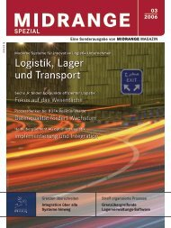 Logistik, Lager und Transport