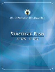 Strategic Plan FY 2007 - Department of Commerce