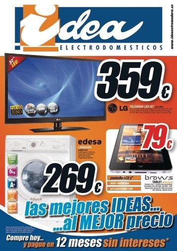 y pague en 12 mesessin intereses* - Idea Extremadura