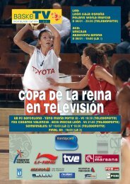 COPA DE LA REINA EN TELEVISIÓN - Federación Española de ...