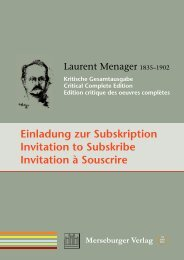 Einladung zur Subskription Invitation to Subskribe Invitation à ...