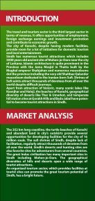 Tourisum Profile - Sindh Board Of Investment, Government Of Sindh - Page 2