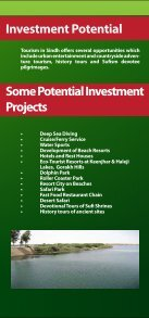Tourisum Profile - Sindh Board Of Investment, Government Of Sindh - Page 3