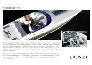 THE 2009 DONZI 35 ZR - Passion Performance