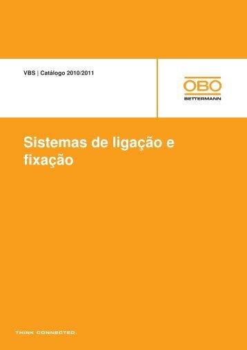 VBS | Sistemas de encastrar e para paredes ocas - OBO Bettermann