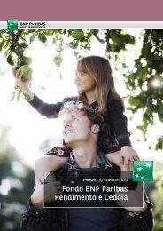fondo BNP Paribas rendimento e cedola - BNP Paribas Investment ...