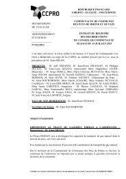 Opposition au tracé du gazoduc ERIDAN à Caderousse - CCPRO