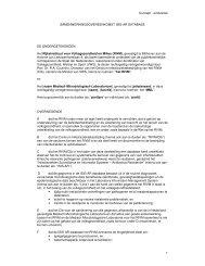 Concept - eindversie 1 SAMENWERKINGSOVEREENKOMST ISIS ...