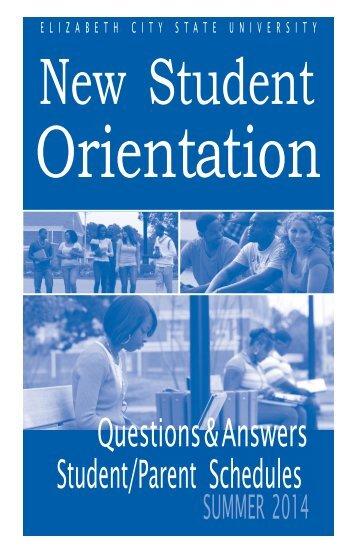 Q & A - Elizabeth City State University