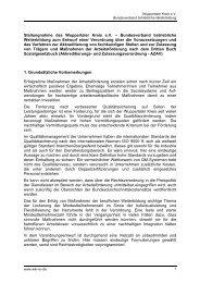Wuppertaler Kreis Stellungnahme zum Entwurf der AZAV (PDF)