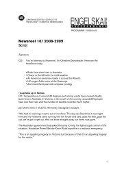 Newsreel 10/ 2008-2009 Script - Ur