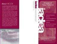 membership brochure - IACLEA