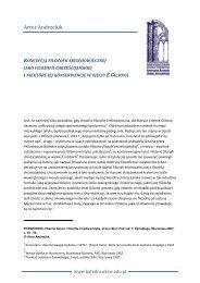Artur Andrzejuk - Katedra Historii Filozofii Starożytnej i ...