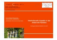 Interkulturelle Aspekte in der Arbeit mit Familien - Wildwasser