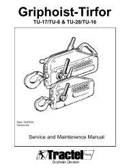 TU17 & 28 service manual.qxd - Tractel