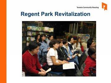 Regent Park Revitalization - St. Michael's Hospital