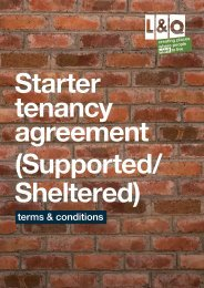 Starter Tenancy Agreement Terms and Conditions - London ...