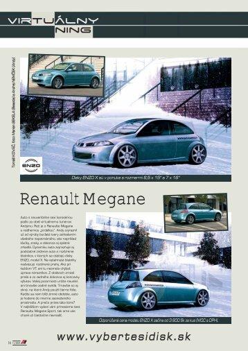 Renault Megane - AutoTuning.sk