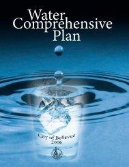 2006 Water Comprehensive Plan - City of Bellevue